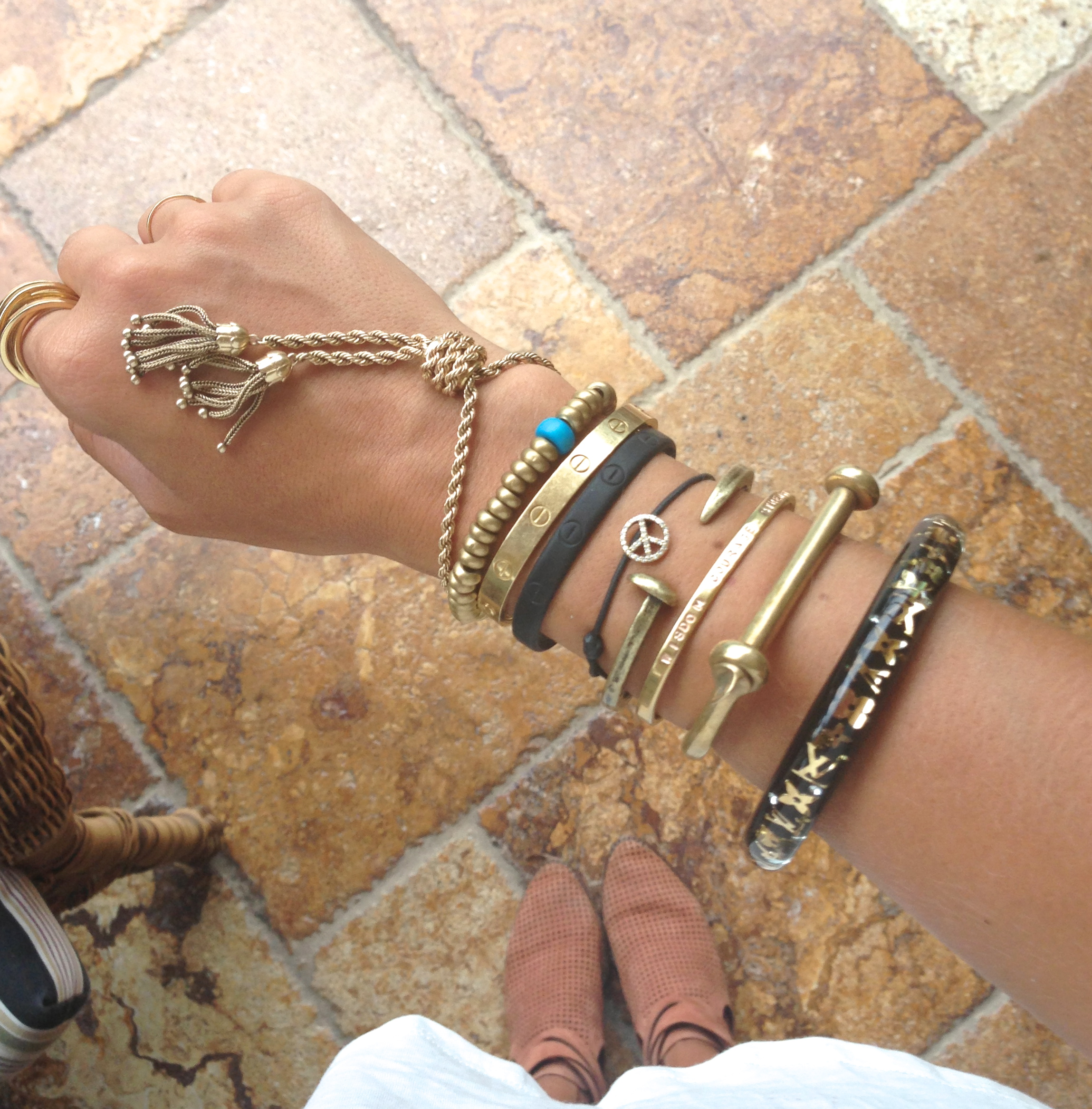 How To Create An Arm Party Veryallegra