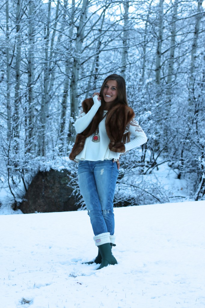 Aspen Style Part 2: Boots with a Fur