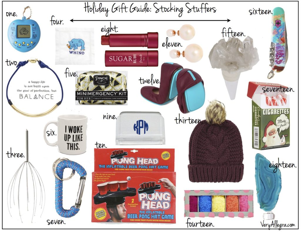 holiday gift guide stocking stuffers 2014