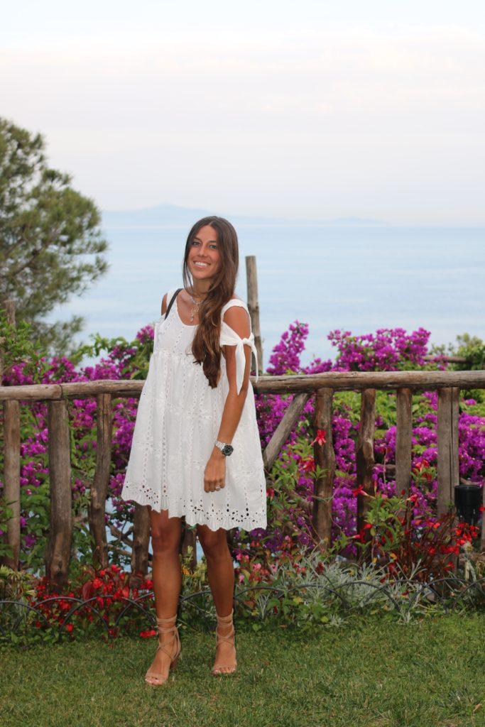 White Eyelet on the Amalfi Coast