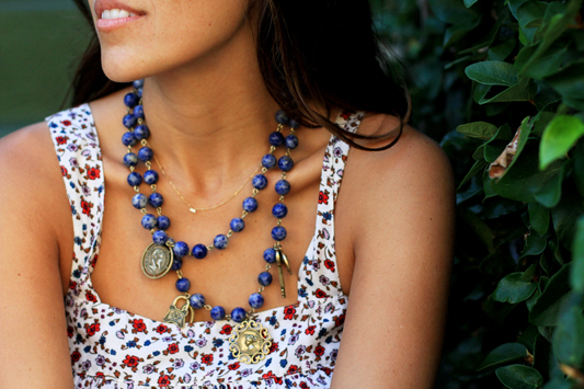 Floral Midi by Xirena + Necklace