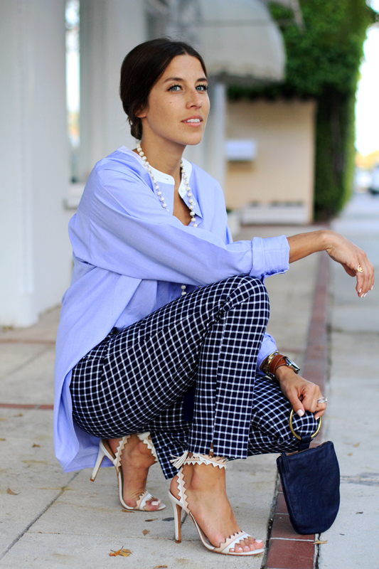 Borrowed From The Boys - Oversized Button Down Chic