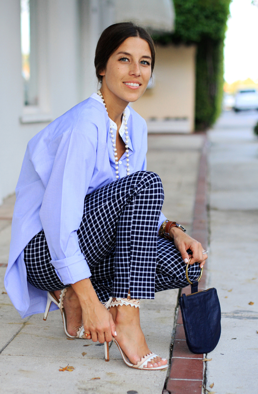 Borrowed From The Boys - Oversized Button Down