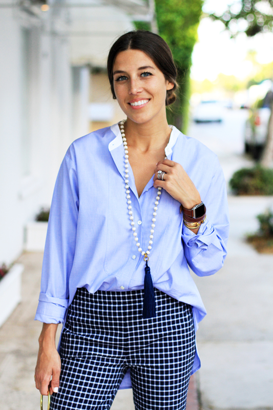 Borrowed From The Boys - Oversized Button Down smiles