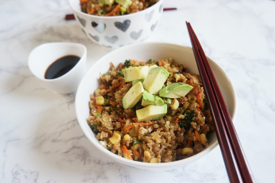 Cauliflower Fried Rice 2