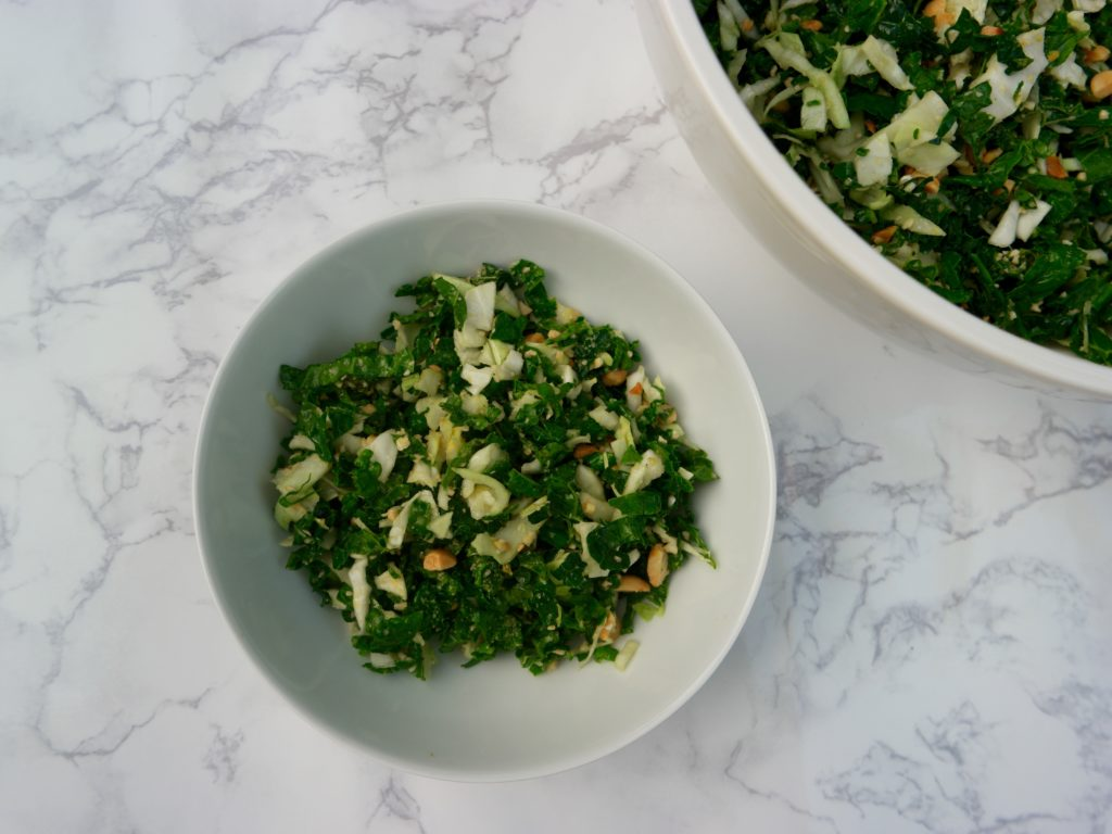 Kale Salad inspired by hillstone 3