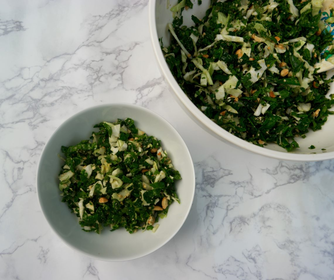 Kale Salad inspired by millstone 1