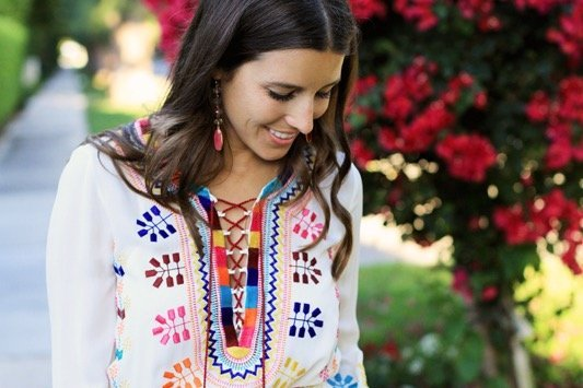 Figue Embroidered Dress 5