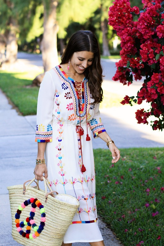 Figue Embroidered Dress 1