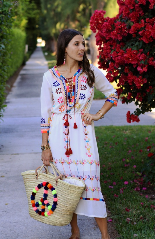 Figue Embroidered Dress 2