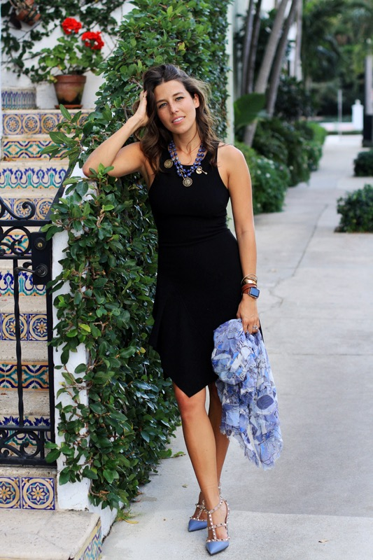 Italian Wrap & Little Black Dress 1