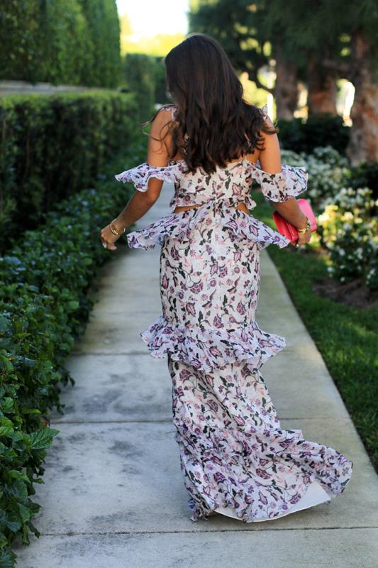 AMUR Gown for Springtime Wedding Twirl