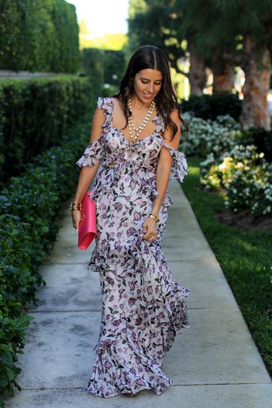 AMUR Gown for Springtime Wedding 2