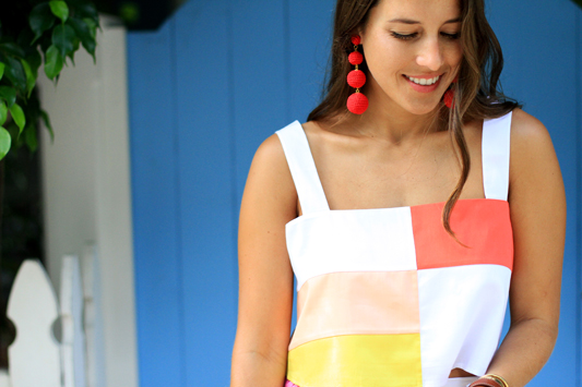 Color Block with Mara Hoffman details