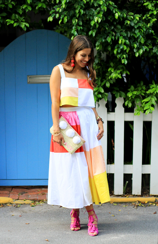 Color Block with Mara Hoffman Full Look