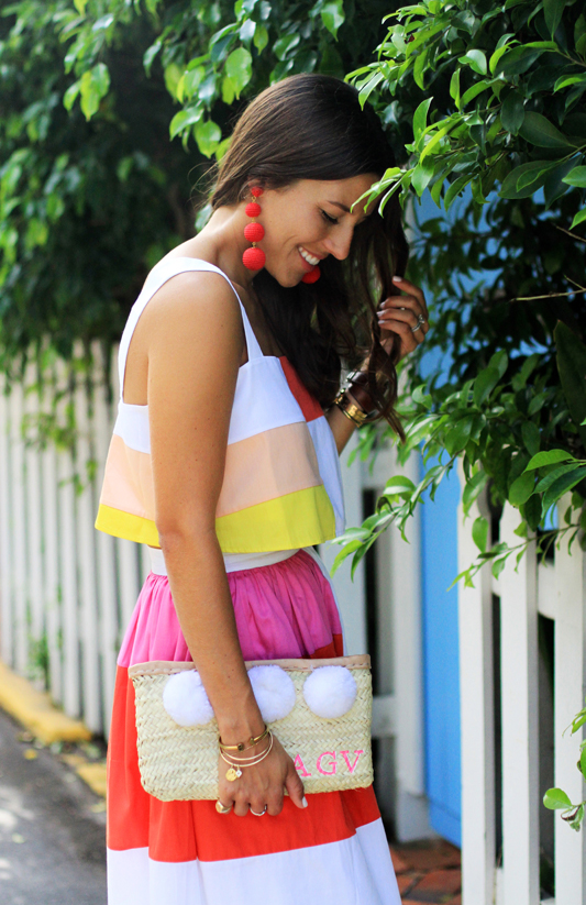 Color Block with Mara Hoffman  side