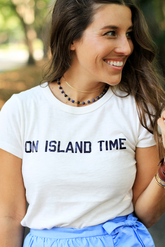 On Island Time with J. Crew 7