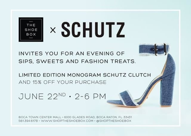 Ruffle Crop - Shoe event at The Shoe Box in Boca