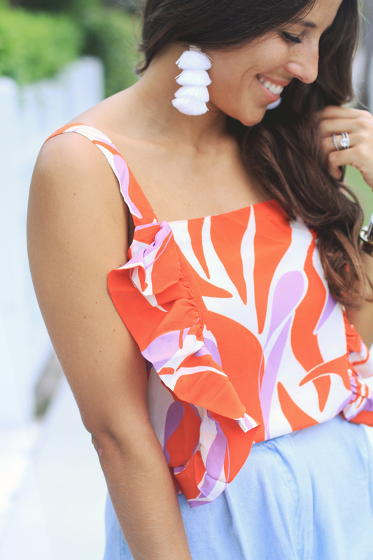 Ruffle Crop, High Waisted Shorts & a Shoe Event detail