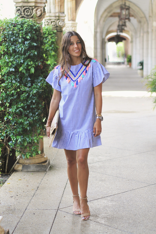 Tassel Dress + Earrings Perfect for Summer 1