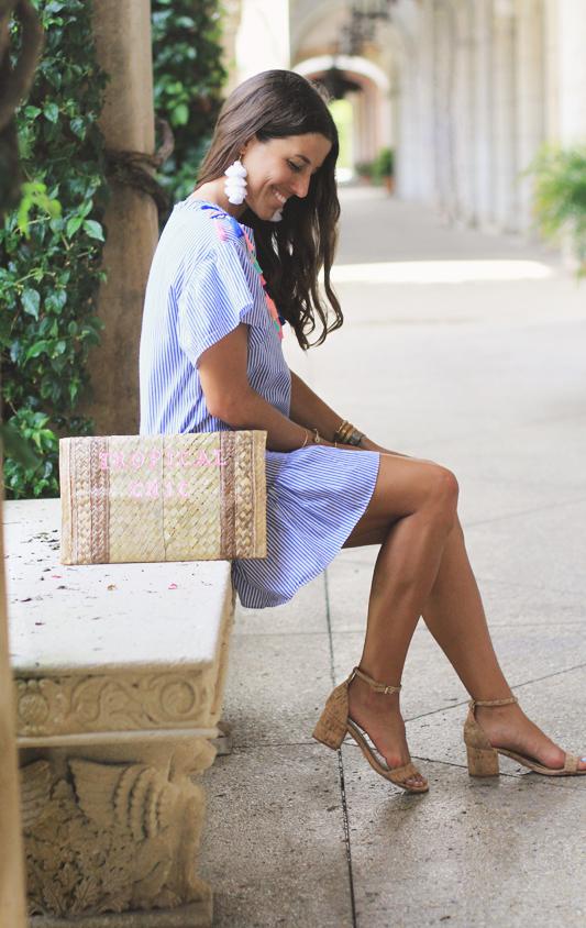 Tassel Dress + Earrings 3