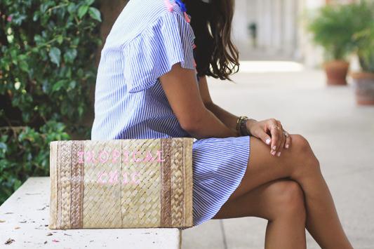 Tassel Dress + Earrings Perfect for Summer custom purse