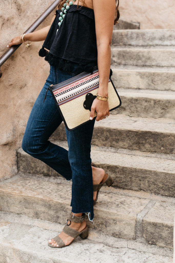 Current Fave Jeans & Clutch