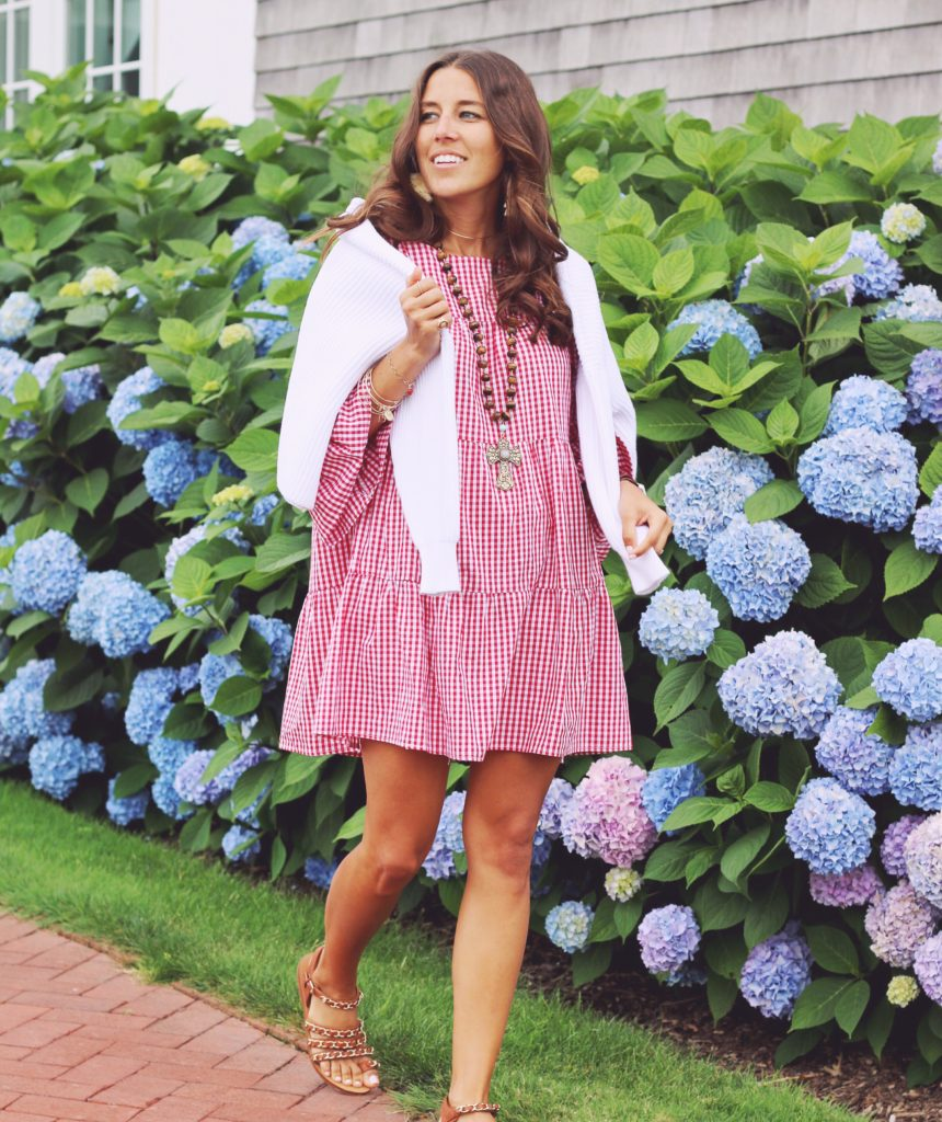 Southampton Recap Outfit lots of gingham