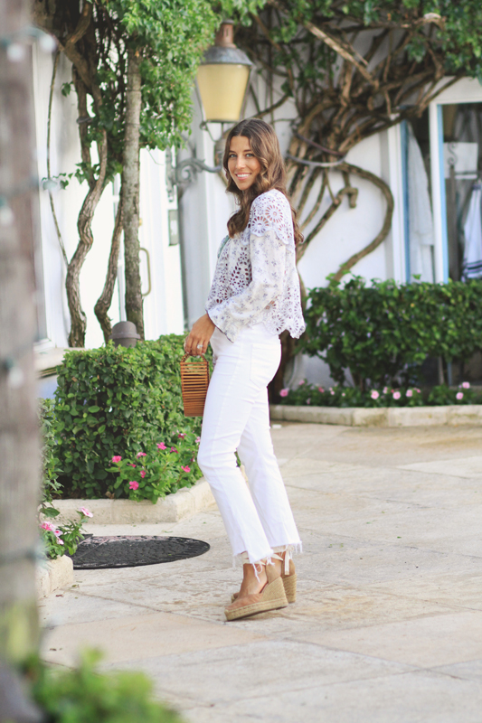 White Jeans by Mother Denim