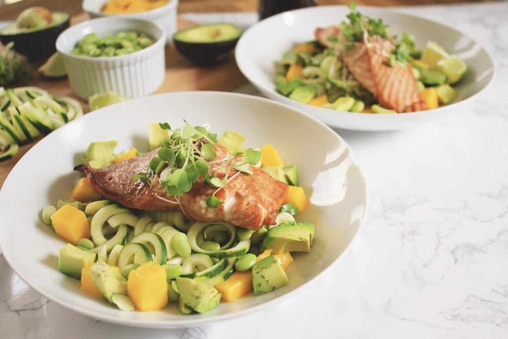 Favorite Asian Salmon Bowls for Dinner