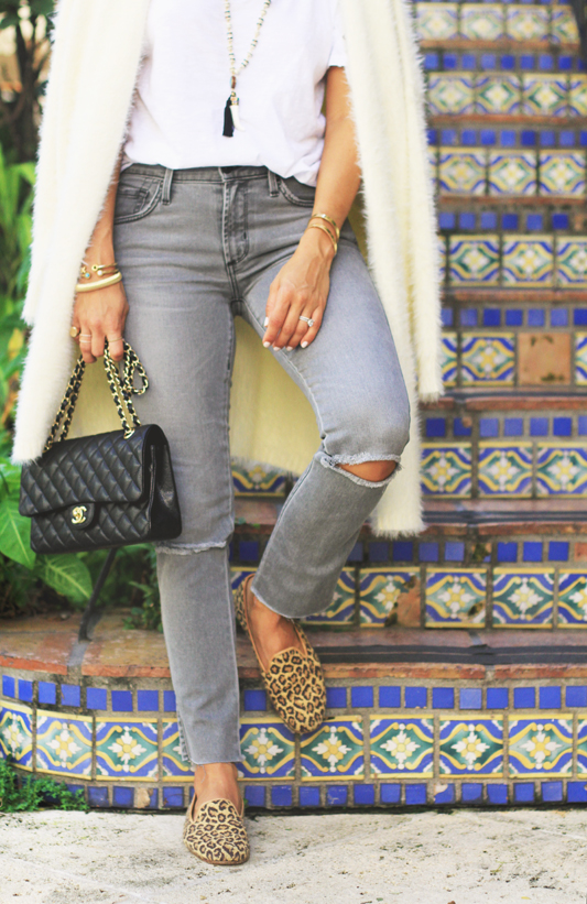 Oversized Cardigan & Chanel