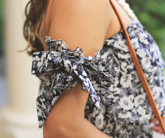 floral bow maxi dress 1