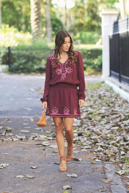 Chloe Oliver Dress Fall Style