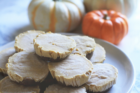 Vegan Pumpin Pie Bites 2