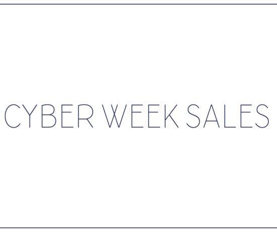 Cyber Week Sales