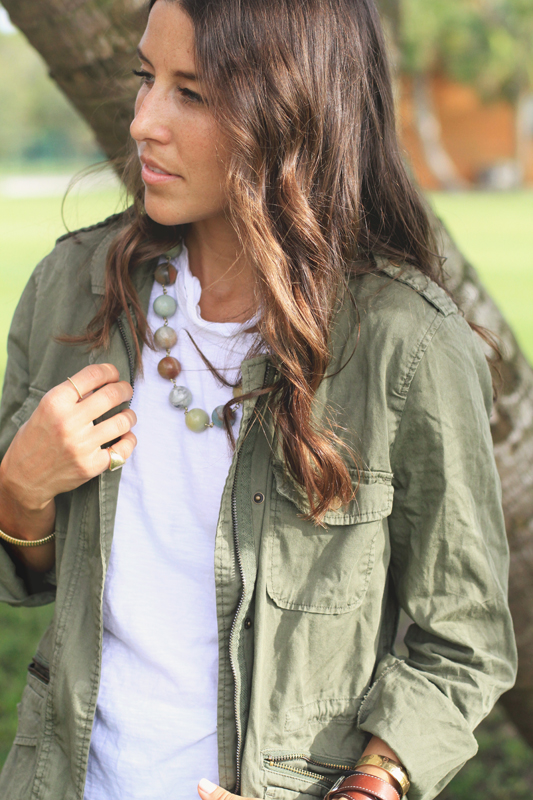 Army Green Jacket by Velvet