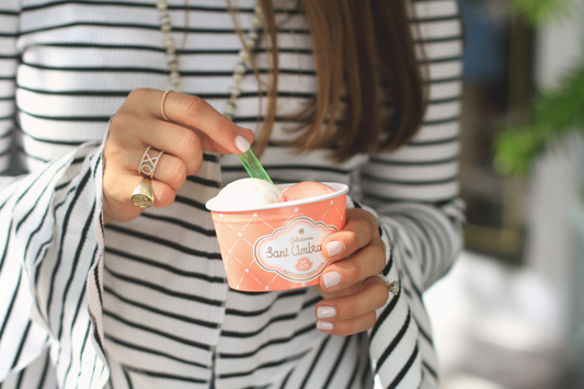 Striped Bell Sleeves Gelato from St. Ambrose