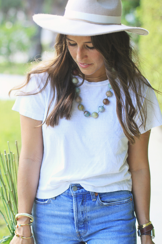 Simple Jeans & Very Allegra Necklace