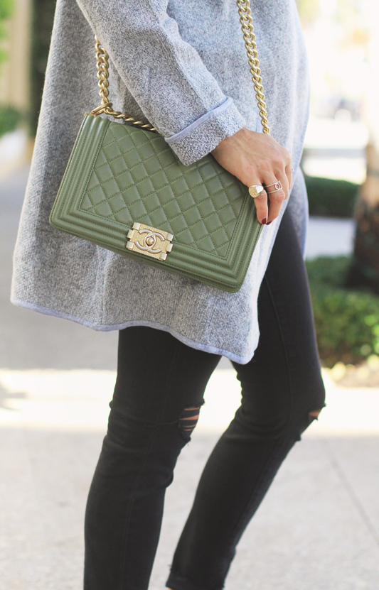 Cardigan Coat & Chanel