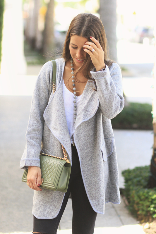 Cardigan Coat from She In
