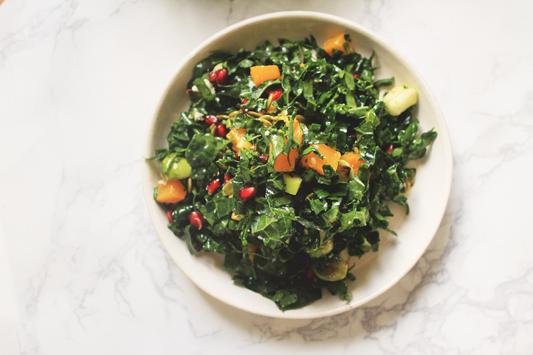 Fall Kale Salad Yum
