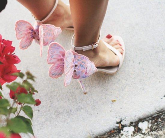 Butterfly Heels & a LBD