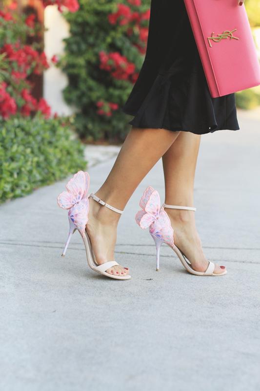 Butterfly Heels by Sophia Webster
