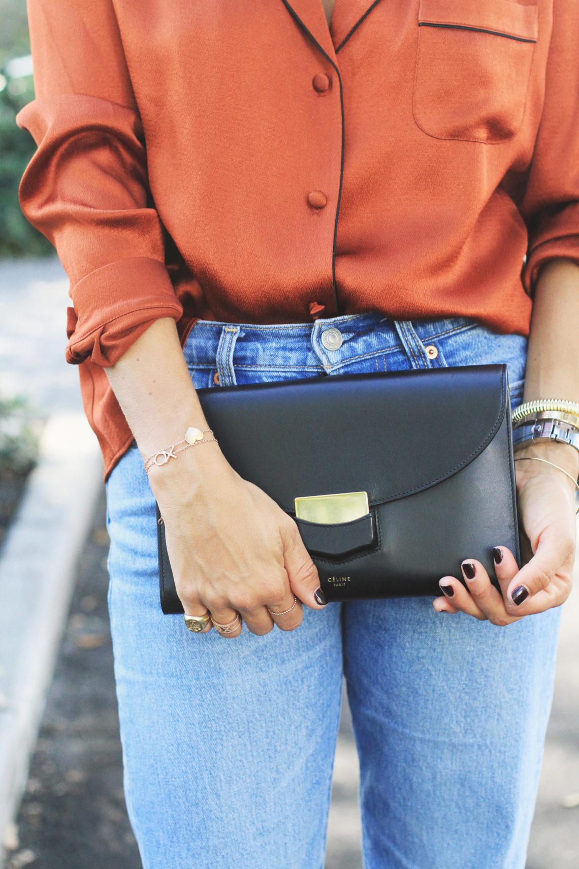Silk Pajama Top & Exciting Jewelry News