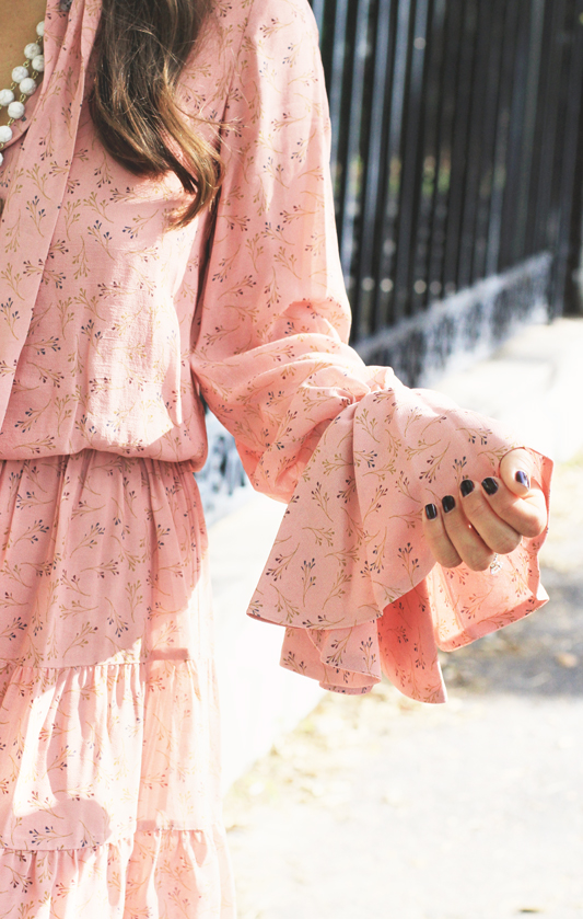 Peachy Dress Details