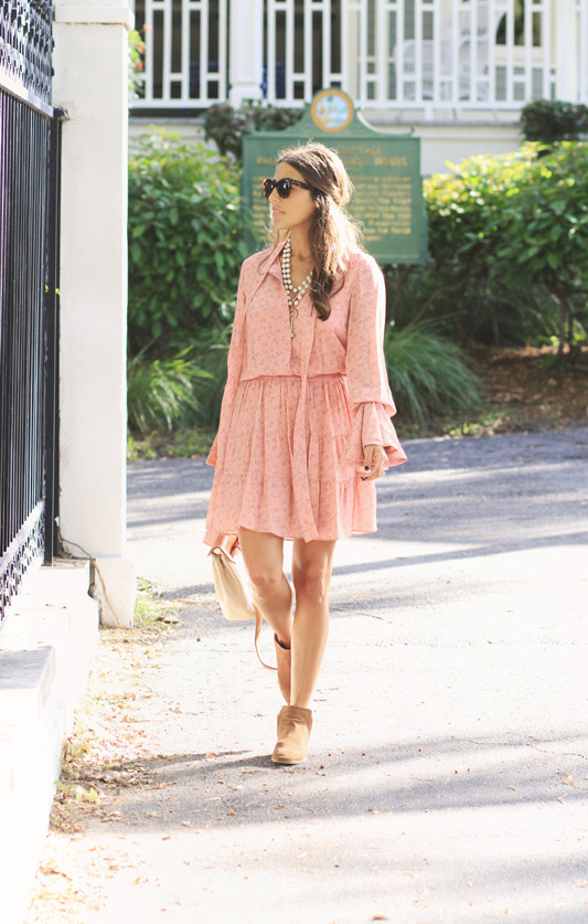 Peachy Dress by Shop Alexis