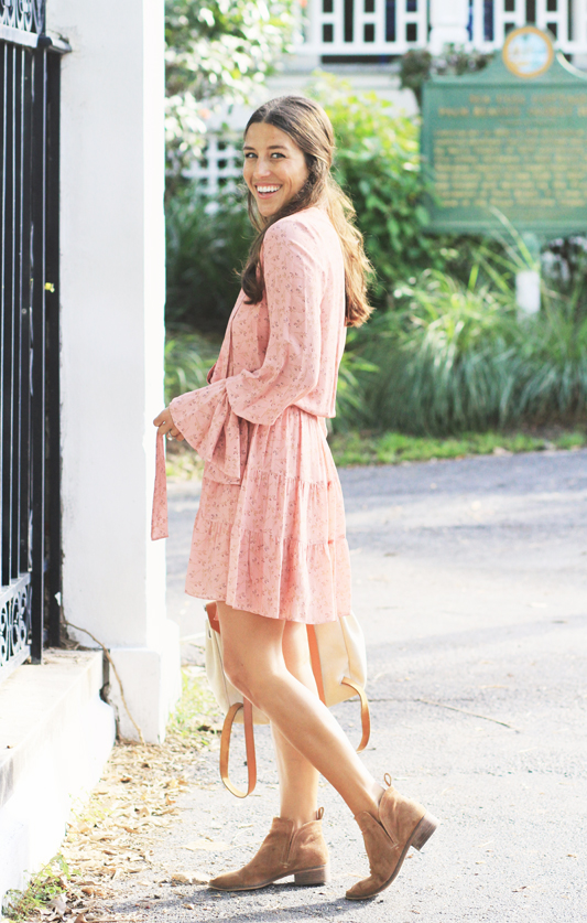 Peachy Dress Palm Beach Winter
