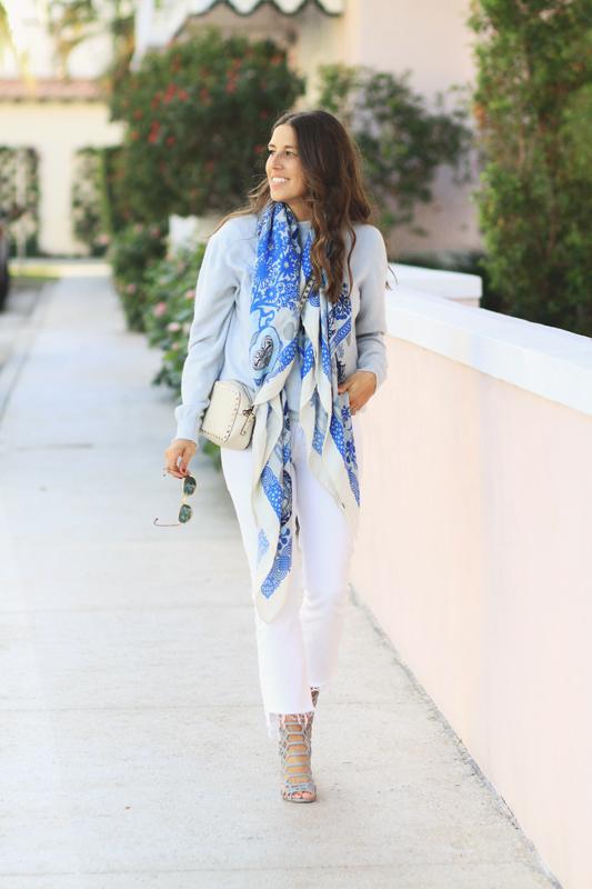 Blue Scarf by Rani Arabella 8