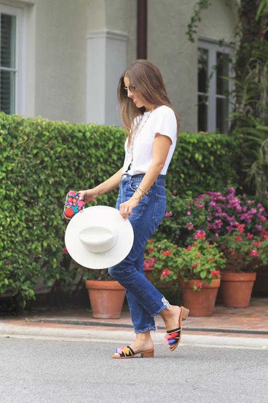 Tassel Sandals & Jeans