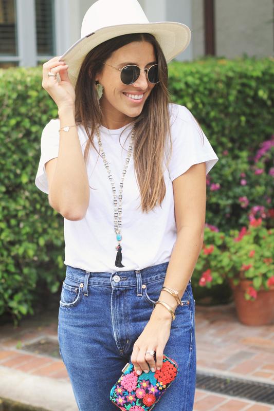 Tassel Sandals & necklace